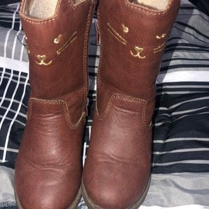 Brown Girls Boots size 7